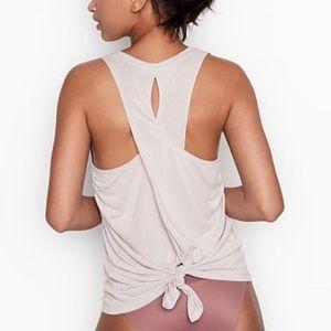 NEW Victoria's Secret Draped Back Tie Tank - XS